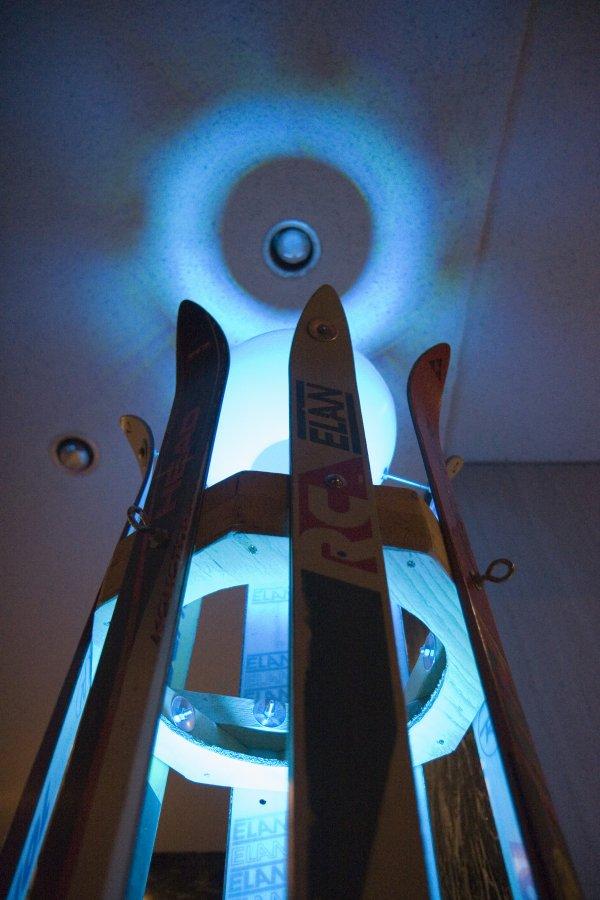 Ski Tower Lantern