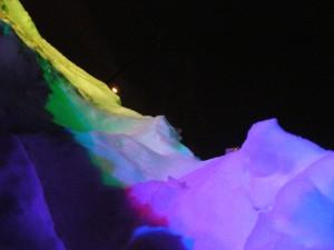 lightpainting in winter
