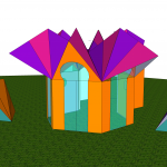hexathedral – hexayurt mashup