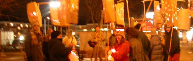 wilt thou be ... valentines day lantern parade